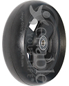 5 x 1 1/2 in. Primo Hollow Spoke Wheelchair Caster Wheel - Angled view shown