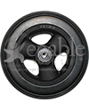 6 x 1 1/4 in. Hollow Spoke Wheelchair Caster Wheel