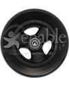 6 x 1 1/2 in. Hollow Spoke Wheelchair Caster Wheel