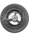 6 x 1 1/2 in. Three Spoke Wheelchair Caster Wheel