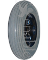 8 x 2 in. Standard Wheelchair Caster Wheel - shown with foam filled tire