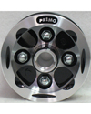 8 x 2 in. Two Piece Alloy Wheel With 2 1/2 in. Hub - No Tire