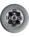 8 x 2 in. Alloy Wheelchair Caster Wheel with Choice of Tire