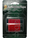 Wheelchair and Scooter Reflective Safety Tape - Red