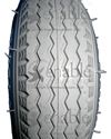280 x 250-4 Primo Power Edge Wheelchair / Scooter Tire - Close-up of tread pattern