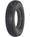 3.00-8 (14 x 3 in.) Primo Powertrax Foam Filled Wheelchair Tire in Black - Angled view shown