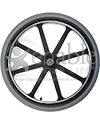 22 x 1 3/8 in. Mag Wheel With 8 Spokes - For 7/16 in. Axle