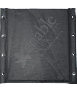 Wheelchair Nylon Seat for Everest & Jennings and Compatible