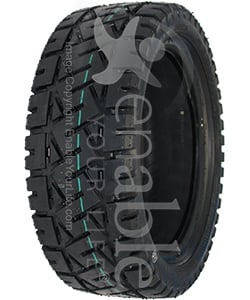 13 x 4.00-8 Primo Low Profile Pneumatic Scooter Tire - Angled View Shown