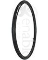 24 x 1 in. (25-540) Primo Sentinel Wheelchair Tire with Flat Guard - Angled view shown