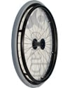 24 in. (540) Radial 36 Spoke Rear Wheelchair Wheel