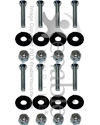 Seat Bolts With Nuts & Washers - Pack of 8