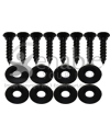 Wheelchair Seat and Back Upholstery Screws with Washers - 8 pk