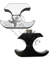 Aluminum Wheelchair Wheel Lock Clamps