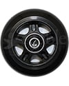 3 x 1 in. One Piece Wheelchair Caster Wheel - Front view shown