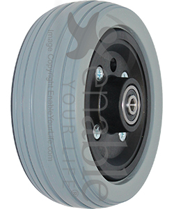 6 X 2 In Pride Replacement Wheelchair Caster Wheel
