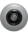 6 x 2 in. Quantum 6000Z, Quantum 6400Z, Q6 Edge Replacement Wheelchair Caster Wheel (Compare to WHLASMB2130) - Front view shown
