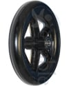 8 x 1 in. Invacare® Veranda™ Wheelchair Caster Wheel with 2 3/8 Hub - Angled view shown