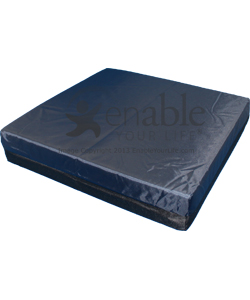 Aftermarket Group 3 in. Thick High Density Foam Wheelchair Cushion