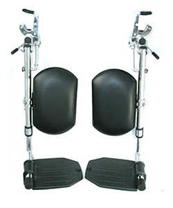 Invacare Style Elevating Legrest Assembly with Padded Calf Pad - pr