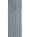 24 x 1 1/4 in. (32-547) Wheelchair Street Tire - Tread pattern close-up