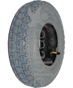 4.10 x 3.50-6 Primo Power Wheelchair / Scooter Tire - Angled view shown