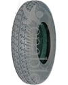 8 x 2 in. (200 x 50) Primo Durotrap Foam Filled Wheelchair/Scooter Tire - Angled View Shown