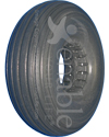 10 x 3 in. (3.00-4) Multi-Ribbed Urethane Wheelchair / Scooter Tire