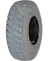 2.80 x 2.50-4 Primo Durotrap Foam Filled Wheelchair/Scooter Tire - Angled view shown