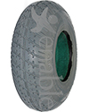 "2.80 x 2.50-4 Primo Durotrap Foam Filled Wheelchair/Scooter Tire - 3 1/8"" bead width model shown"