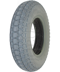 4.00-8 Primo Ability Knobby Foam Filled Wheelchair Tire - Angled view shown