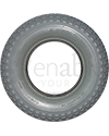 4.00-8 Primo Ability Knobby Foam Filled Wheelchair Tire - Front view shown