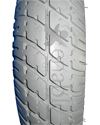 3.00-8 (14 x 3 in.) Primo Durotrap Foam Filled Wheelchair Tire - Tread pattern close-up