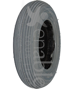 7 x 1 3/4 in. Foam Filled Wheelchair / Scooter Rib Tire - Angled view shown