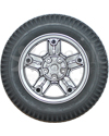 14 x 3 in (3.00-8) Invacare Drive Wheel for TDX and Storm 3G - Silver - View from the back shown