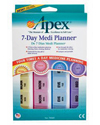 Apex® 7-Day MediPlanner® - Package view