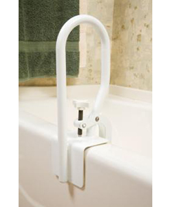 Carex® White Bathtub Rail