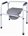 Carex® 3 in 1 Steel Commode
