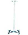 Carex® Mobile IV Pole with 4 Hooks