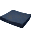 Mabis DMI Seat Mate™ Coccyx Wheelchair Cushion - Shown with cover