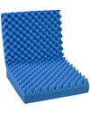 Mabis DMI Convoluted Foam Seat Pad with Back