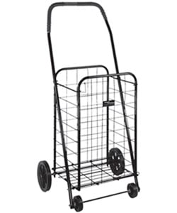 Mabis DMI Folding Shopping Cart with Wheels