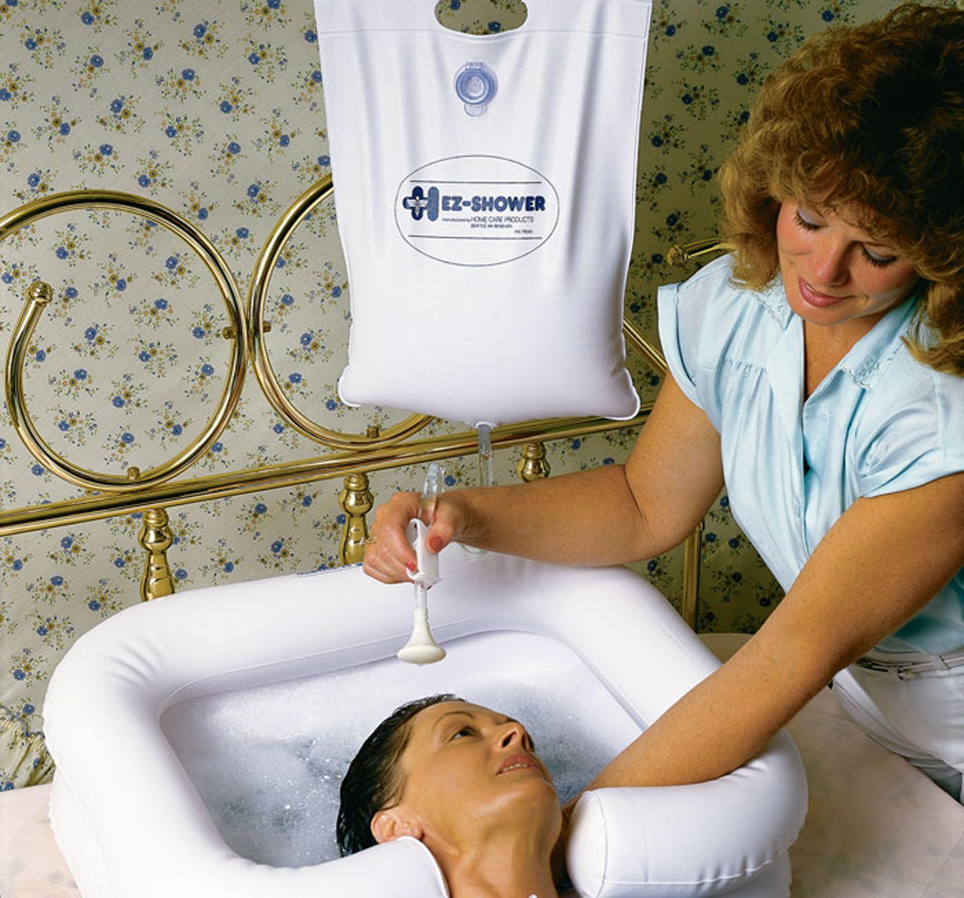Ez Shower Overhead Bedside Shower System