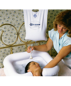 EZ-SHOWER™ Overhead Bedside Shower System