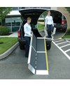 EZ Access� TRIFOLD� Advantage Series� Ramp - Shown in use