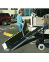 EZ Access� TRIFOLD� Advantage Series� Wheelchair or Scooter Ramp - Shown in use