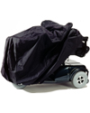 EZ Access Scooter and Power Wheelchair Covers - Showing scooter cover in use