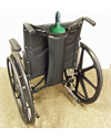 EZ Access® EZ-Accessories® Wheelchair Single D/E Oxygen Bottle Holder