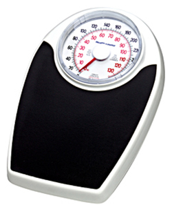 Healthometer Mechanical Dial Floor Scale With 330 lb Capacity