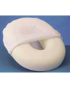 Hermell Foam Comfort Ring with White Polycotton Cover